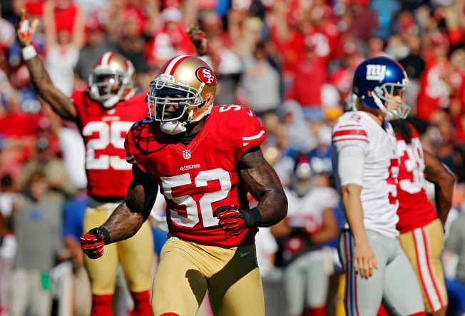 Niners Linebackers Prepare for a Collision