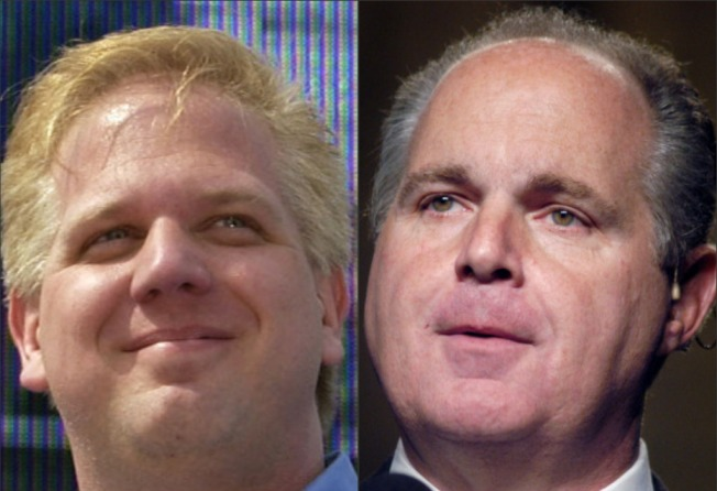 Beck vs. Limbaugh