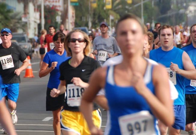 San Diego Fire Run 2010