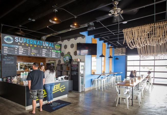 Eater San Diego: Expansion News for SuperNatural Sandwiches and Farmer's Table