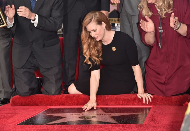 Amy Adams Receives 2,598th Star on Hollywood Walk of Fame