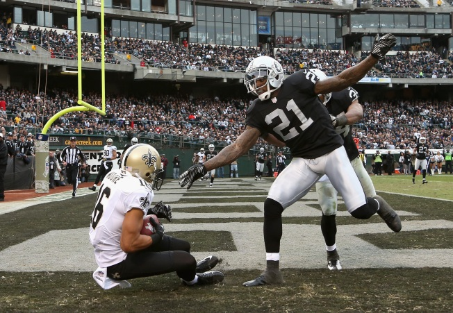 Raiders Can't Stop Saints, Lose Third Straight