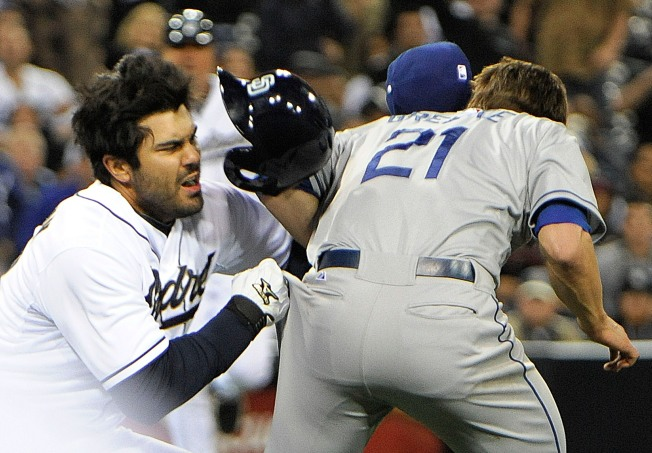 Dodgers Down Padres