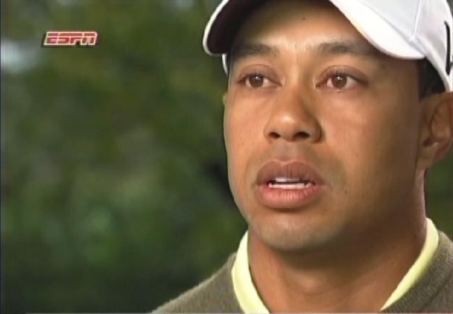 Tiger Woods' Five Minutes of Shame
