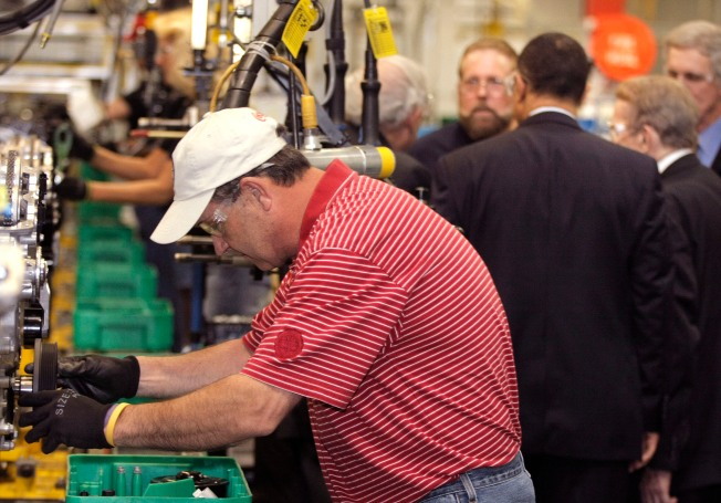 Factories Boom, But With Few New Workers