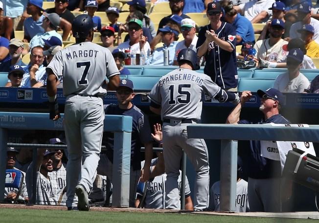 Padres Drop Final Game in Dodgers Series