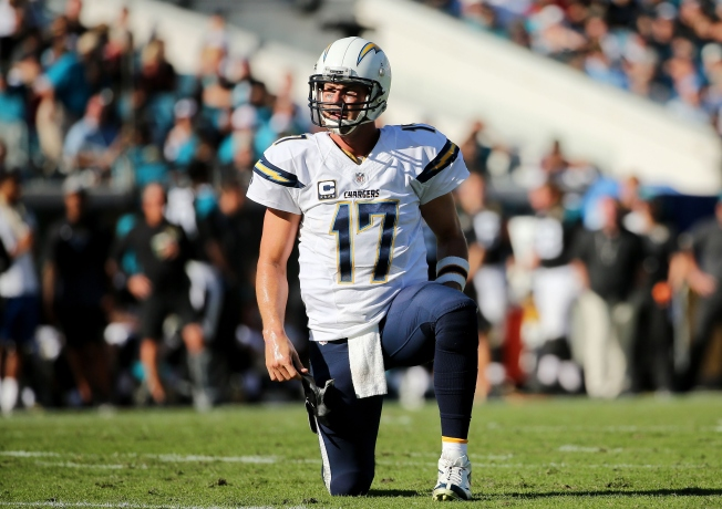Chargers Ride Rivers to Road Win