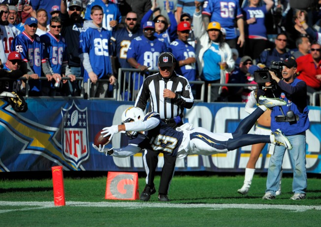 Keenan Allen Nominated for Rookie of the Year
