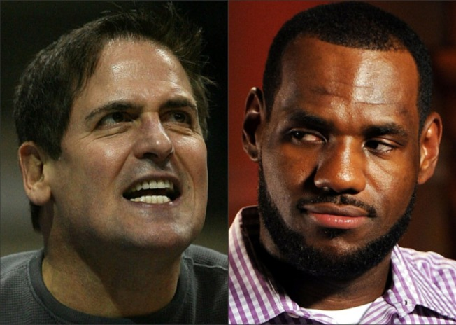 "LeBron ""Humiliated"" Cleveland, Lost $1B, Says Cuban"