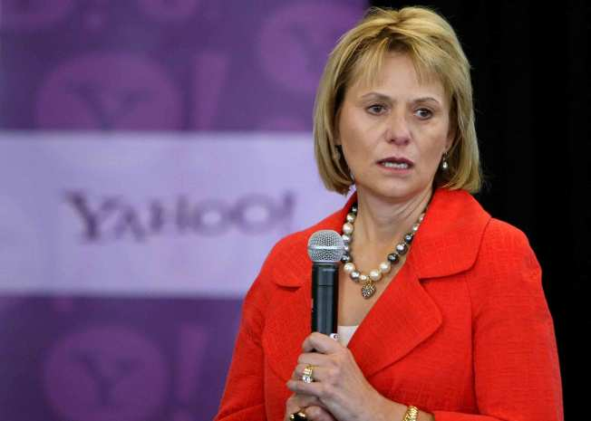 """Be Cynical About Frickin' Google"": Yahoo CEO"