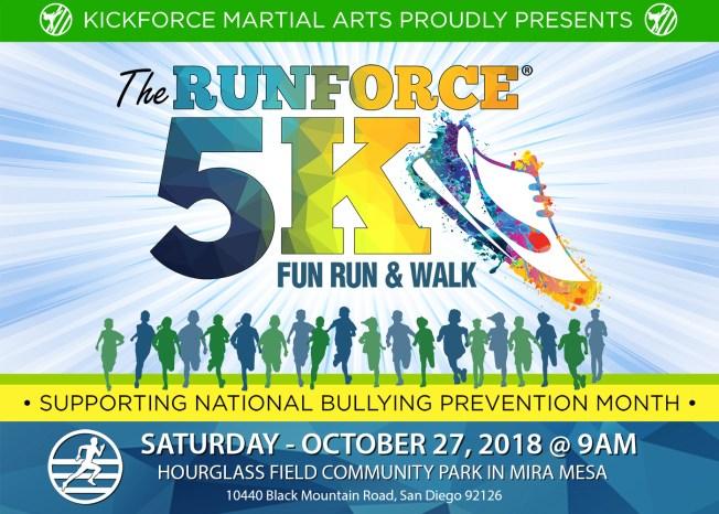 Runforce 5k Run/Walk Against Bullying