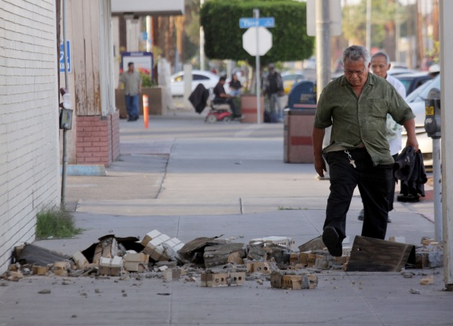 Quake-Hit Town Weighs Safety Against Economy