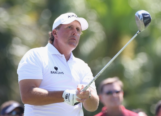 Mickelson Looks Masters-Ready