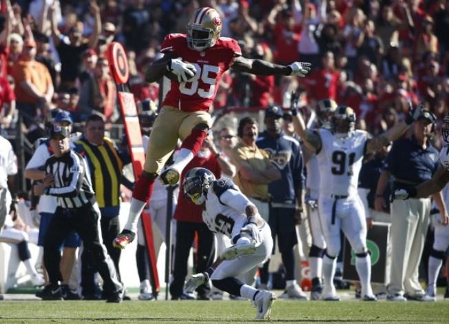 49ers Hurdle Rams