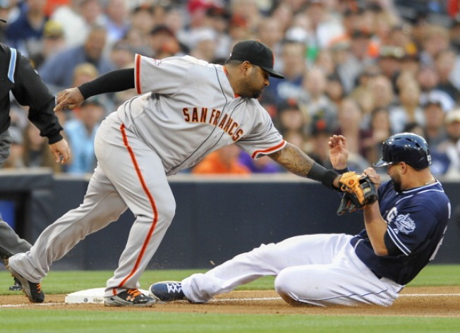 Padres Complete Sweep of Giants