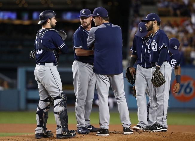 Padres Drop Series Opener against Dodgers
