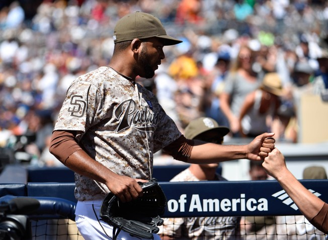 Padres Nearly Snap No-Hitter String