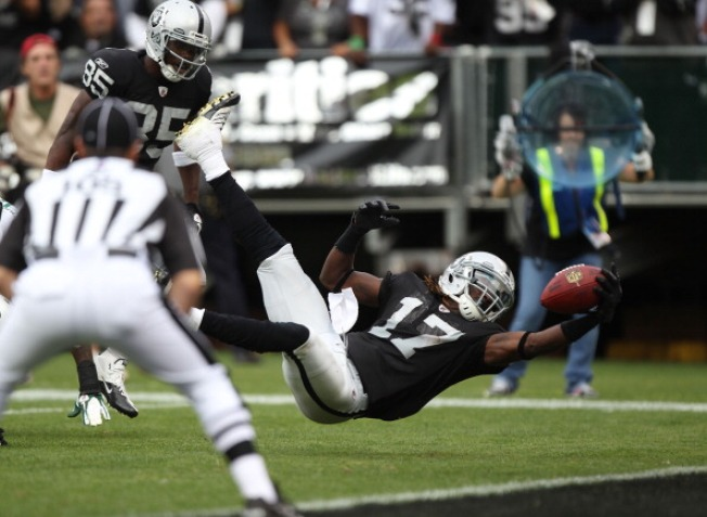 Raiders' Talent Starts to Take Over