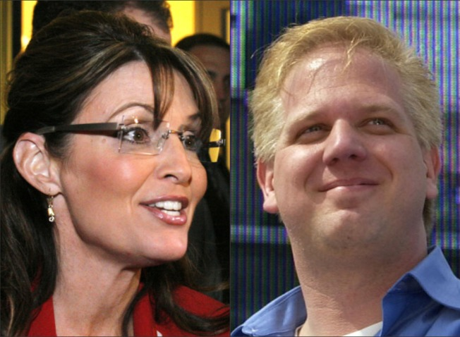 "Palin, Beck Rail Against ""System"""