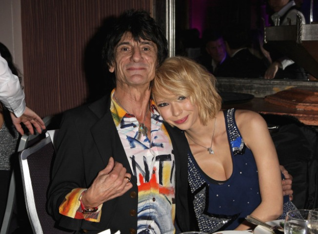 Rolling Stone Ronnie Wood Dumped By Wife