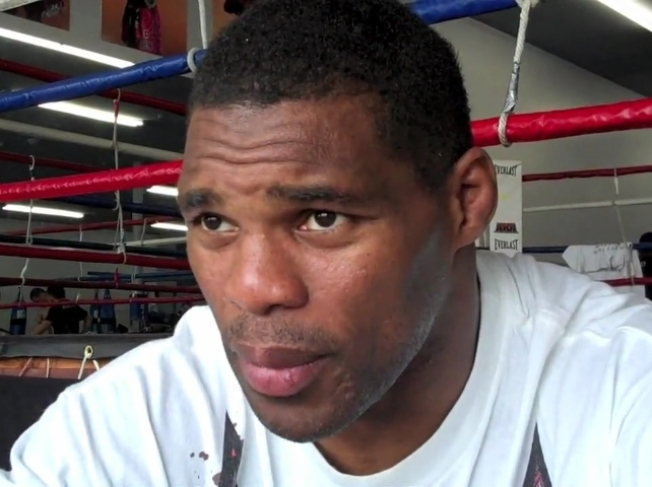 Herschel Walker Aching for a Fight