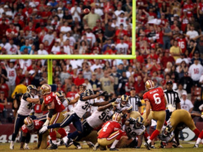 Nedney Out, 49ers Sign Replacement Kicker Andrus