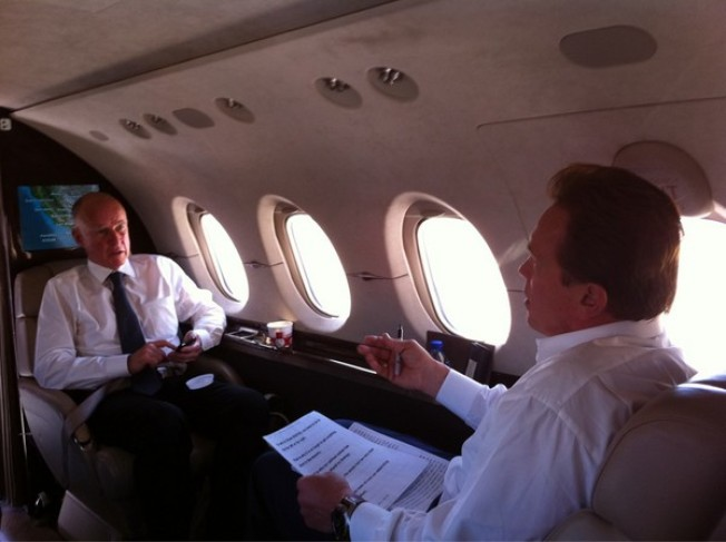 California Welcomes Your Money Mr. Obama: Schwarzenegger