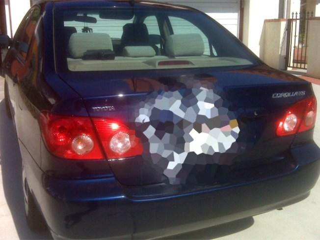 Cars Sprayed With Racial Slurs