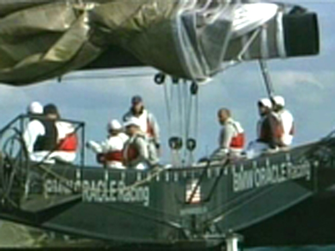 America's Cup Begins with Drama