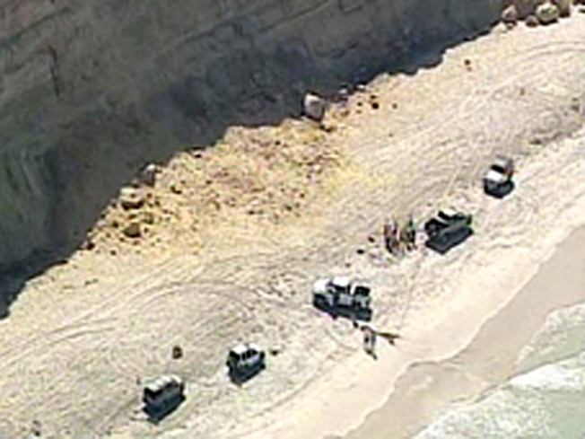 Cliff Collapses at Torrey Pines