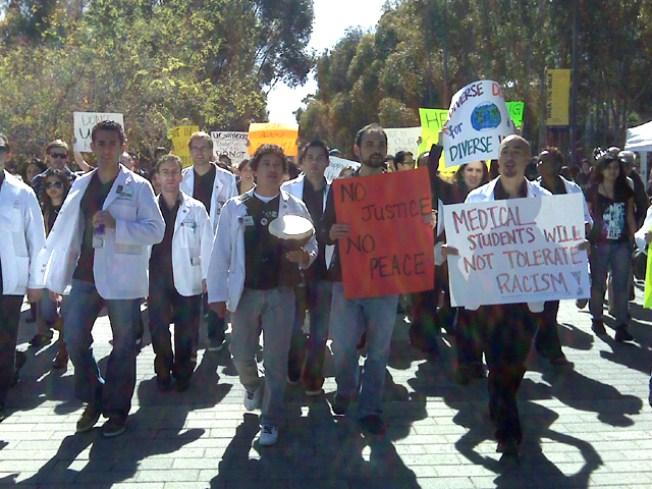 UCSD Students Condemn 'Hateful' Speech