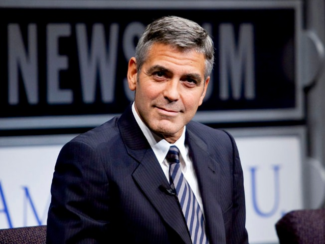 """George Clooney Suffers Broken Hand in Car """"Accident"""""""