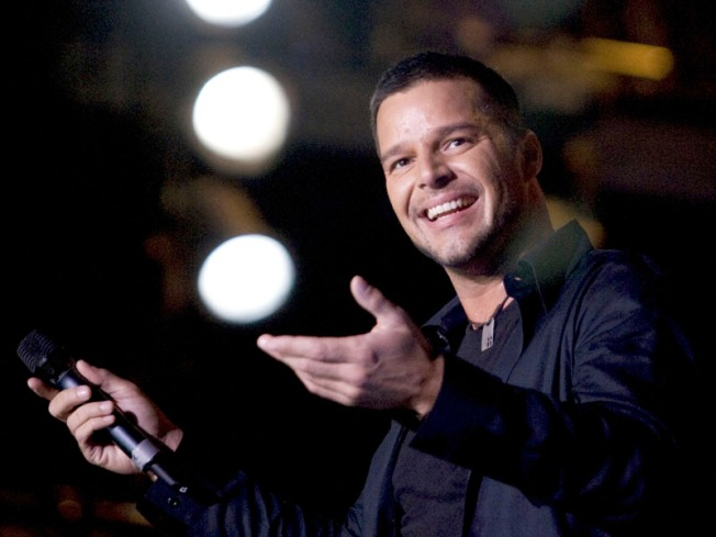 "Ricky Martin Livin' ""Evita"" Loca On Broadway In 2012"