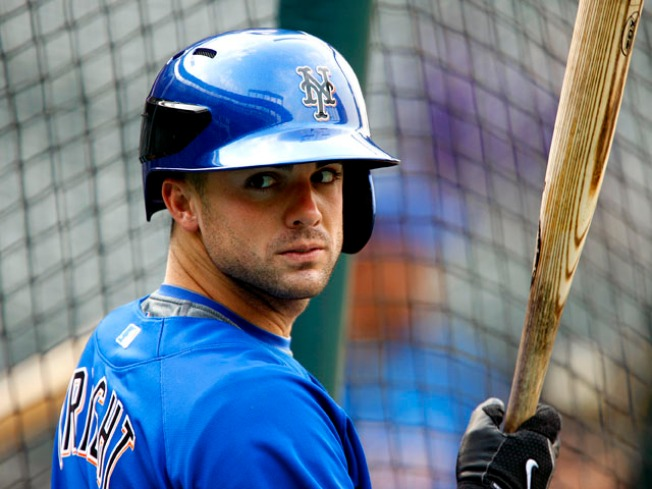 David Wright's New Helmet Is Visible From Space