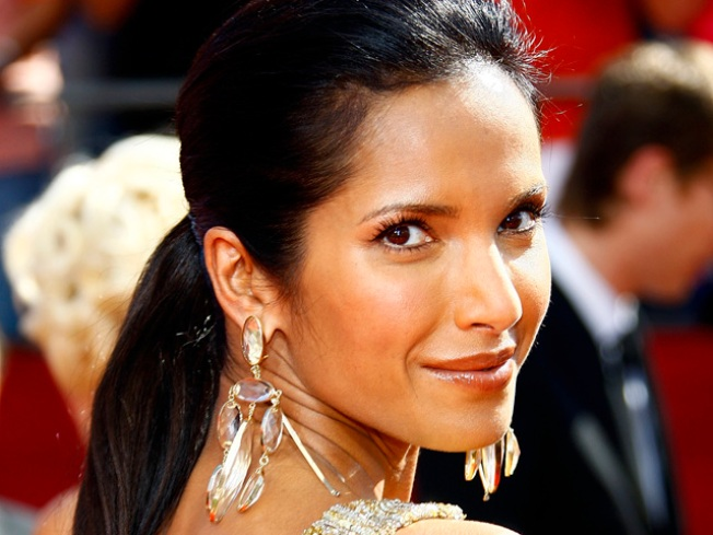 'Top Chef's' Padma Lakshmi To Baby Daddy: Please Pack Your Knives & Go