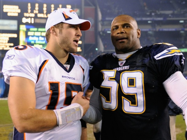 Siler is Tebow's Old Friend, Mentor