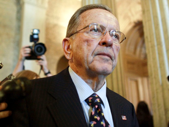 Feds Seek to Reverse Ted Stevens' Conviction