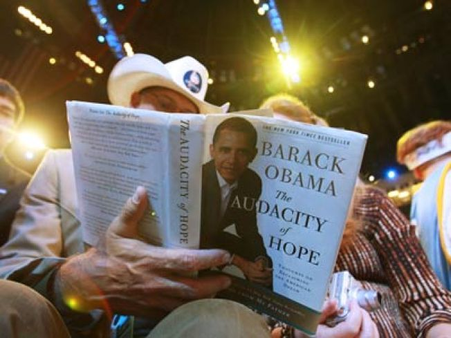 Publishers Bet Big on 'Obama as Hero'