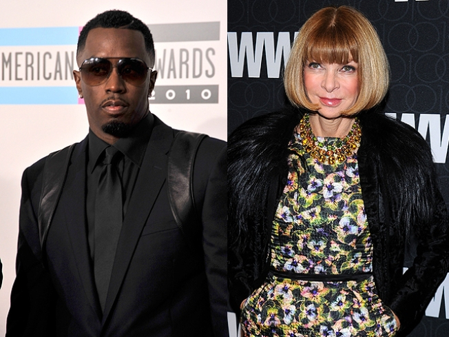 Fashion Meets Rap: Diddy Recruits Anna Wintour for Latest Album