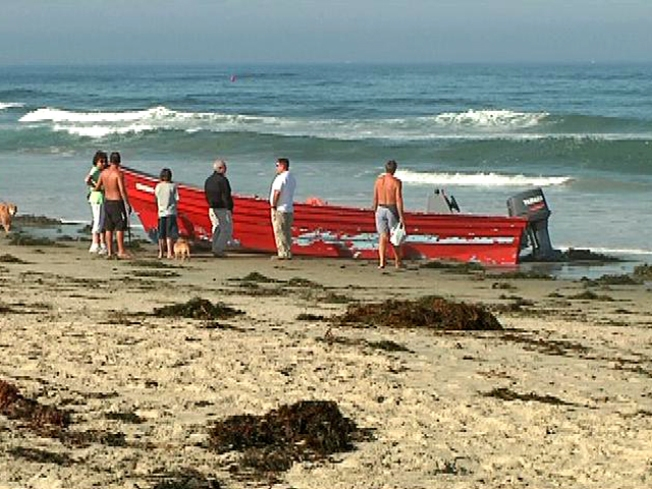 Abandoned Panga Boat Found in PB