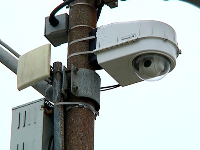 Beach Surveillance Cameras Unmanned