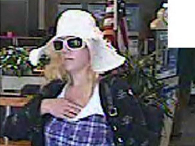 Lady Bandit Hits 3 Banks