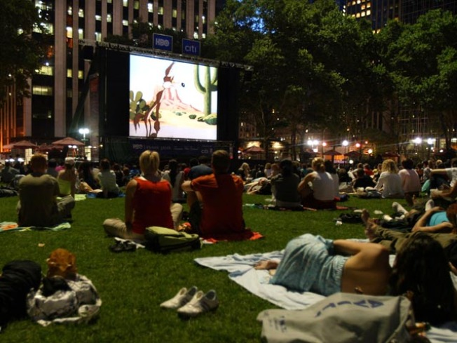 Worth the Drive: Movie Night Under the Stars