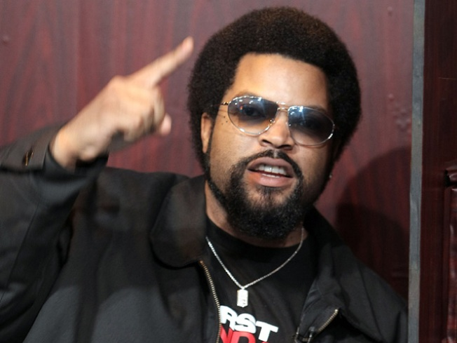 Ice Cube Making a Raiders Documentary