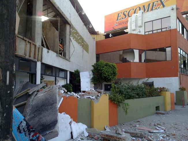 7.2 Quake Shakes Region