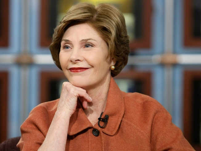 Former First Lady Laura Bush Honored in Dallas