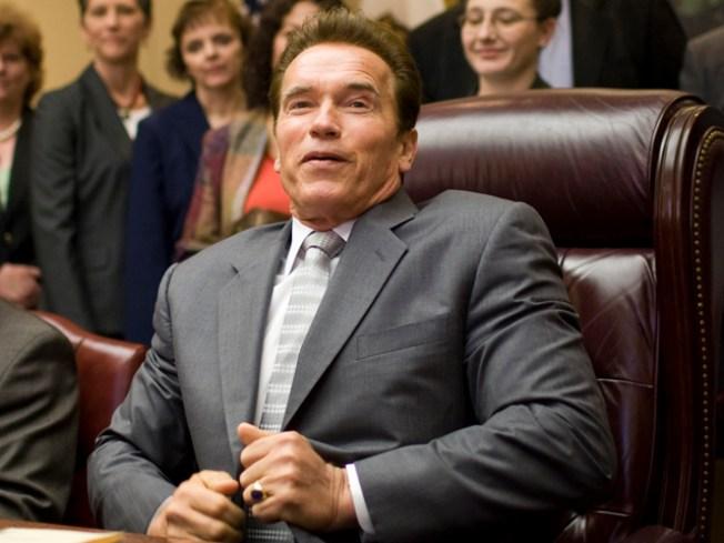 Arnold's Hidden F-You Veto Message