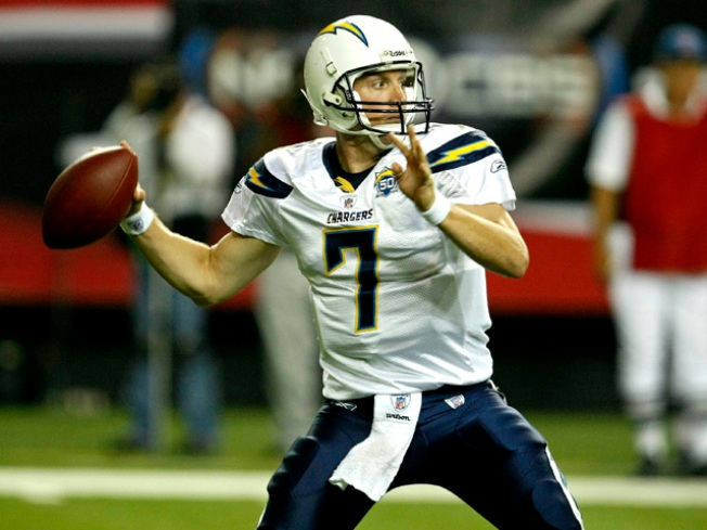 Chargers Fun Fact: QB Volek Setting Records