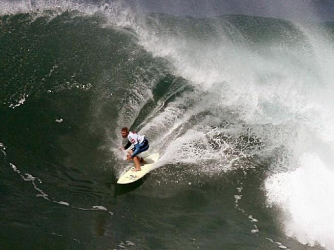 Surf's Up So Mavericks Watch Is On