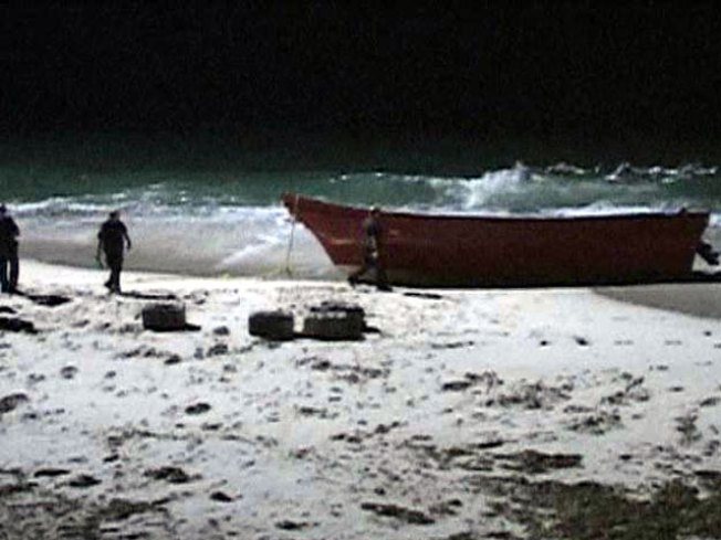 20-Plus In Custody After Boats Come Ashore